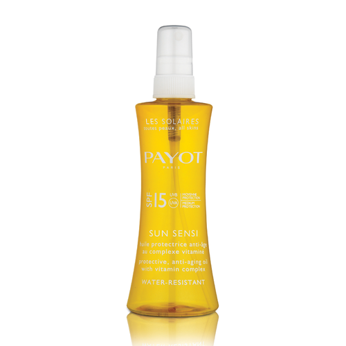 Payot Sun Sensi SPF 15 Body & Hair Spray aurinkosuojaöljy